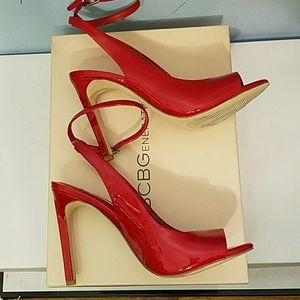BCBGeneration Shoes - Sexy red patent heels! 🔥🔥🔥